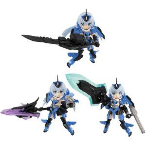 Desktop Army Frame Arms Girl - KT-116f Stylet Series 3 Pack BOX [MegaHouse]