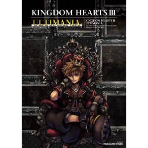 KINGDOM HEARTS III - ULTIMANIA [Guide book / Artbook]