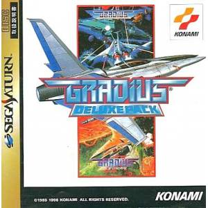 Gradius Deluxe Pack [SAT - Used Good Condition]