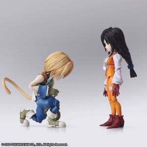 FINAL FANTASY IX - Zidane Tribal & Garnet Til Alexandros 17th [BRING ARTS / Square Enix]
