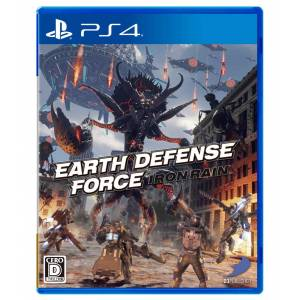 FREE SHIPPING - EARTH DEFENSE FORCE:IRON RAIN - Standard Edition [PS4]