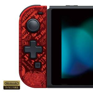 FREE SHIPPING - Hori Handheld Mode Designated D-pad Controller (L) Super Mario Ver. [Switch]