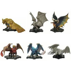Monster Hunter Standard Model Plus Vol.13 - 6 Pack BOX - Reissue [Capcom Figure Builder]