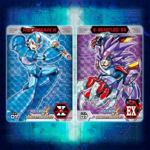 Carddass Rockman X Giga Mission Limited [Trading Cards]