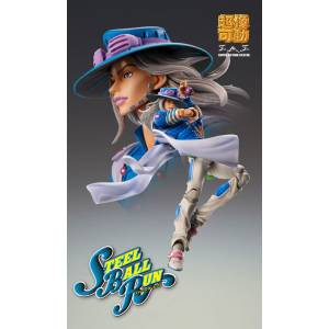 JoJo's Bizarre Adventure Part. 7 Steel Ball Run Gyro Zeppeli Second + LIMITED PARTS [Super Action Statue]