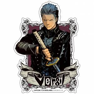 Capcom x B-SIDE LABEL Sticker - Devil May Cry 5 Vergil [Goods]