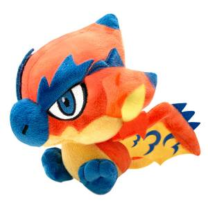 Monster Hunter Deformed Plush Rathalos - Reissue [Goods]