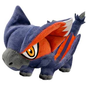 Monster Hunter Deformed Plush Nargacuga - Reissue [Goods]