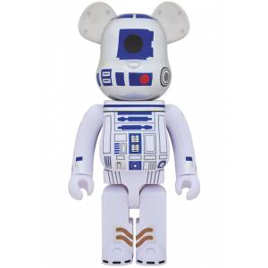 BE@RBRICK / BEARBRICK 1000% R2-D2 - STAR WARS [Medicom Toy]