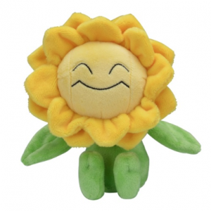 Plush Pokémon fit Sunflora