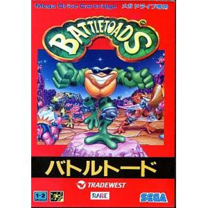 Battletoads [MD - Used Good Condition]