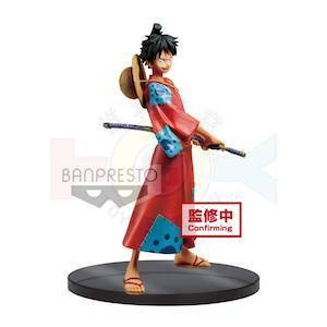 One Piece -DXF Grandline Wano Kuni Vol.1 - Monkey D Luffy [Banpresto]