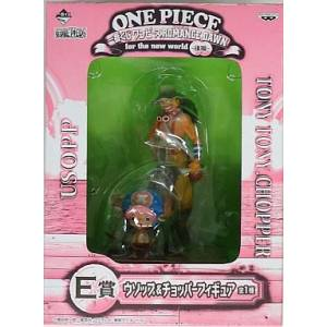One Piece Romance Dawn for the New World - Usopp & Chopper E Price - Ichiban Kuji [Banpresto] [Used]