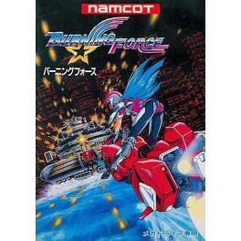 Burning Force [MD - Used Good Condition]