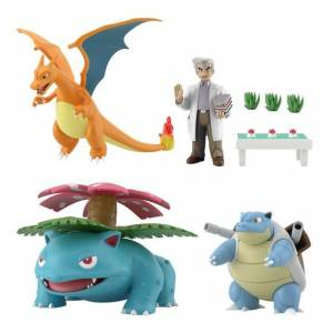 Pokemon Scale World - Okido Yukinari Hakase  / Professor Samuel Oak Limited set [Bandai]