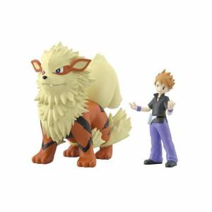 Pokemon Scale World - Green & Arcanine Limited set [Bandai]