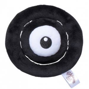 Plush Pokémon fit Unown O