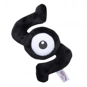 Plush Pokémon fit Unown S