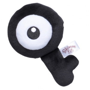 Plush Pokémon fit Unown Q Pokemon Center Limited [Goods]