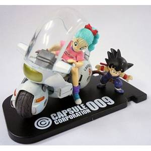 Dragon Ball Museum Collection 4 - Goku & Bulma in Bike [Banpresto]