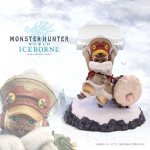 Monster Hunter World: IceBorne - Otomo Airou Multi-Purpose Stand [Goods]