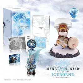 Monster Hunter World: IceBorne Collector's Package Otomo Airou Stand e-Capcom Limited Edition - Expansion DLC [PS4]