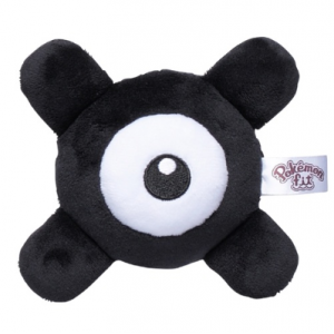 Plush Pokémon fit Unown X Pokemon Center Limited [Goods]