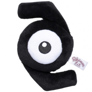 Plush Pokémon fit Unown Z