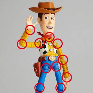 Toy Story - Woody Renewed Package Design Version [Legacy of Revoltech]