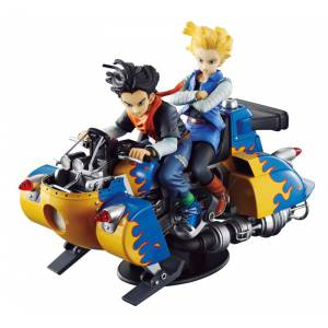 Dragon Ball Z Desktop Real McCoy 04 - Android 17 & 18 [Megahouse] [Used]
