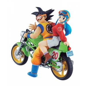 Dragon Ball Z Desktop Real McCoy 05 - Son Goku & Chichi [Megahouse] [Used]