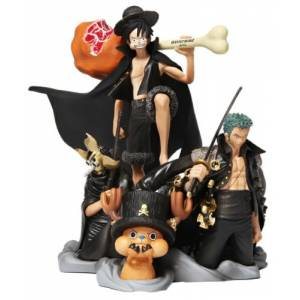 One Piece Desktop Real McCoy 01 - Theater 8 Mastermind Japan ver. [Megahouse]