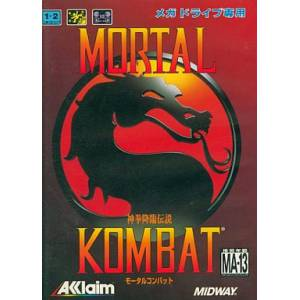 Mortal Kombat [MD - Used Good Condition]