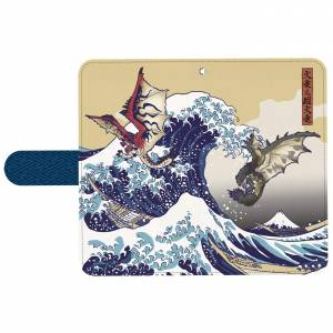 Monster Hunter - Ukiyoe Smartphone Case Rathalos & Rathian x Fugaku [Goods]
