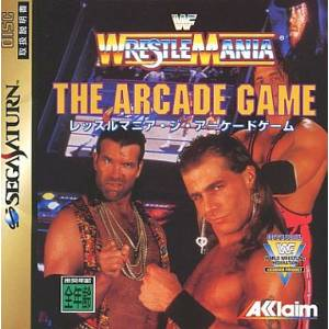 WrestleMania - The Arcade Game [SAT - occasion BE]